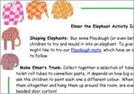 Elmer The Patchwork Elephant Story - elmer the patchwork elephant free teaching resources free