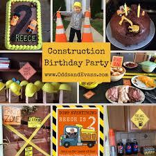 construction birthday party birthday party