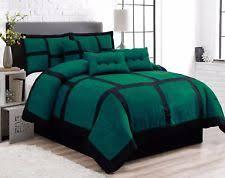 Tan And Black Comforter Sets Bed In A Bag Bedding Sets Ebay