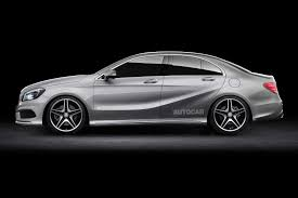 mercedes beamer entry level mercedes benz a class saloon on the cards autocar