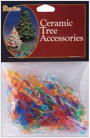darice ceramic christmas tree bulb 25