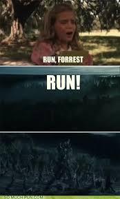Run Forrest Run Meme - puns forrest gump funny puns pun pictures cheezburger