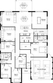 complete house plans 4 bedroom house plans perth the rivington complete homes