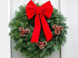 decoration decorated wreaths decoration ev farm wreath jumbo