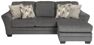 Benchcraft by Ashley Braxlin Contemporary Sofa Chaise in Gray
