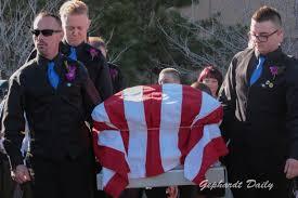 Fallen Officer Flag Video Community Bids Emotional Farewell To Fallen West Valley