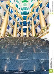 dubai burj al arab interior editorial stock image image 10543699