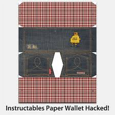 Instructables Instructables Paper Wallet Hacked 2 Ways And New Design 6 Steps