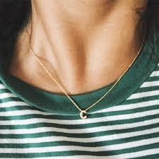 gold letter necklace pendants images Gold initial necklace gold letter necklace initials name necklaces jpg