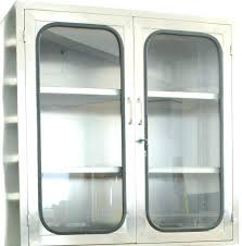 glass door medicine cabinet see the medicine cabinet glass medium size of glass kitchen storage