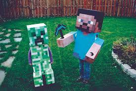 Minecraft Halloween Costume Easy Kids Halloween Costumes Valley Parent Magazine