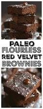 red velvet beet brownies gf low cal paleo skinny fitalicious