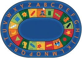 Kids Classroom Rugs Bilingual Circletime Carpets For Kids