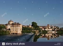 Wehr Baden Alte Mühle Haus Wehr Und Stadt Cahors Auf Dem Fluss Lot In Süd