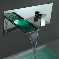 cool bathroom sink new design bathroom sink faucets led wall mount waterfall brass