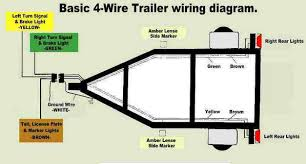 wiring diagram for 4 wire trailer plug u2013 readingrat net