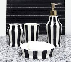 bathroom bathroom accessories black and white black and white