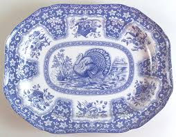 festival blue by spode at replacements ltd
