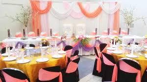 Wedding Table Set Up Malay Wedding Table Setup Catering