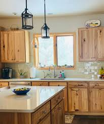 how to freshen up stained kitchen cabinets edesign rustic kitchen makeover before after