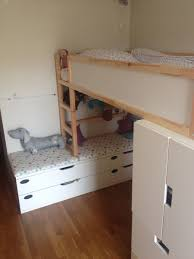 Small Bed by Kid Friendly Diys Featuring The Ikea Kura Bed