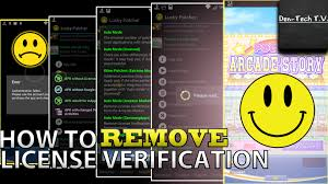 android license how to remove license verification on android root 2015