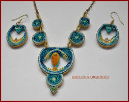 quilling earrings set quilling orquidea quilling by vero marcos quilling