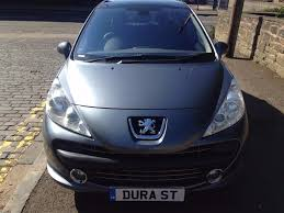 peugeot family car peugeot 207 gt 1 6 2008 08 diesel full years mot economical