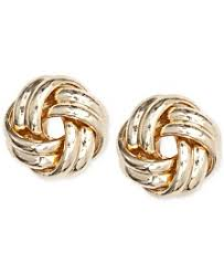 knot earrings knot earrings shop for and buy knot earrings online macy s