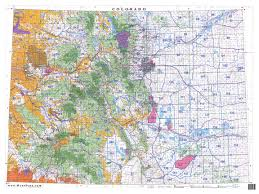 Colorado Map by Untitled Document