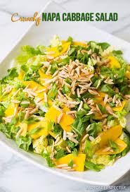 napa salad crunchy napa cabbage salad a spicy perspective
