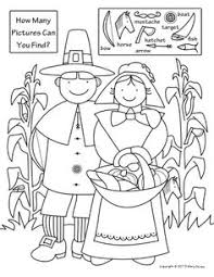 free printable thanksgiving pictures with objects happy