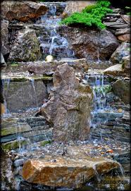 14 best stone wall waterfalls images on pinterest backyard