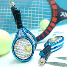 tennis racket ornament by ornaments to remember