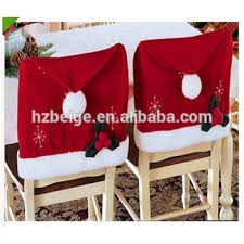 christmas chair covers 2016 new style christmas chair covers back party decorations