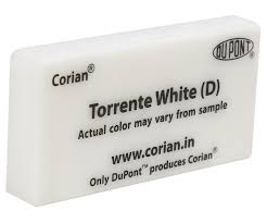 Corian Price Bands Torrente White Dupont Corian 12mm Sheet Cheapest Price Online In India