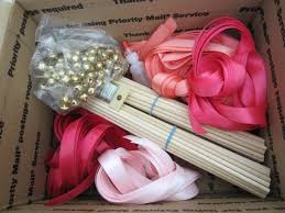 wedding wands diy wedding wand ribbon wands custom colors 100 wands with bells