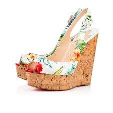 christian louboutin shoes for women wedges for sale great price
