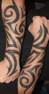 21 tribal forearm tattoos