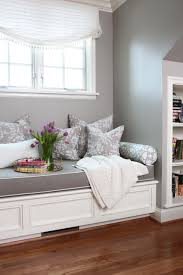 Interior Decorated Homes Cozy Home Library Ideas Window Bench Seat Incredible Bedroom