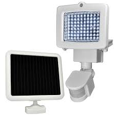 Security Light Solar Powered - improvised personal security products for preppers