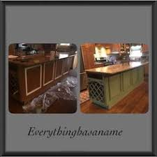 hand painted kitchen islands hand painted kitchen cabinets and kitchen island refinished https