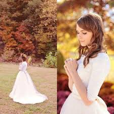 discount designer modest wedding dresses with sleeves scoop a line