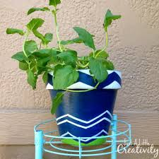 unique plant pots how to create beautiful garden flower pots using frogtape shape