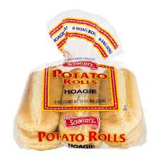 cuisine schmidt 15 schmidt s hoagie potato rolls 6 ct from food instacart