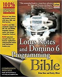 amazon com lotus notes and domino 6 programming bible
