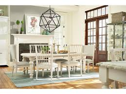 bungalow 7 piece dining set by paula deen barrow fine furniture