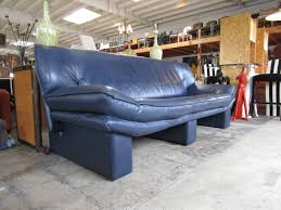 Navy Blue Tufted Sofa Furniture Comfortable Modern Sofa By Nicoletti Furniture For