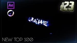 top 100 free intro templates 24 cinema 4d adobe after