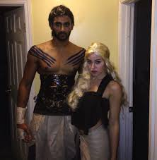 khal drogo and daenerys targaryen game of thrones khaleesi